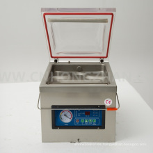 Máquina de envasado al vacío de mesa de banco Dz300b para efectivo