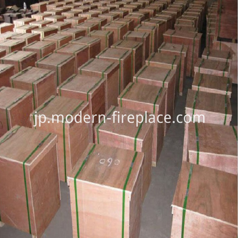Packaging of Factory Wood Stoves