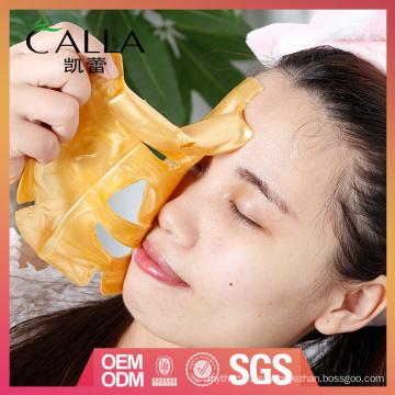 la máscara facial del bio-colágeno del oro de la venta y de la alta calidad antiarrugas con el certificado