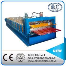 Профилегибочная машина для производства металлических кровельных листов из холодного металла