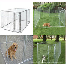 Горячие Продажа металла портативный собака забор / улица собака забор