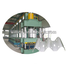 corrugated guardrail roll forming machine