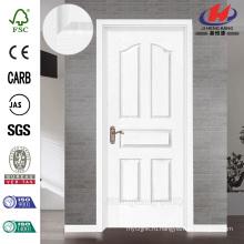 JHK-005 Mdern Design Частичная доска Whiter Primer Rose HDF Дверь