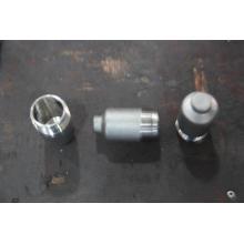 Exportação de Aço Inoxidável Ss 304 ou 316 Filtro Shell por CNC Usinagem de Superfície