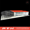 2015 Prefabricated Industrial Custormized Design Steel Structure Warehouse