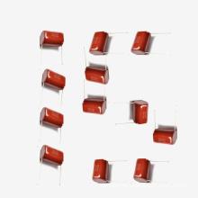 Capacitor Metalizado de Filme de Poliéster Mkt-Cl21 15UF 5% 100V para DC Pulsante