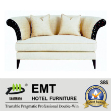 Nice Design Hotel Sofa Double Sofa Set (EMT-SF31)