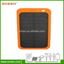 Preço de fábrica painel solar 5V banco de energia solar portátil 5000 mah para carregamento de telefone celular