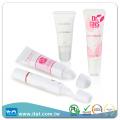 Recipiente de tubo de cosméticos plástico de venda a quente para creme de dente dental com bálsamo labial cc creme