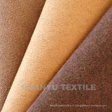Tissu en simili-Suède composé pour housses de Textile à la maison
