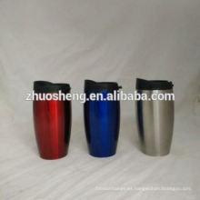 tazas de té irrompible de alta calidad de impresión de la insignia de encargo