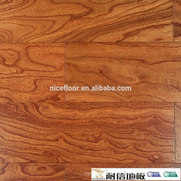 Natural elm solid wood flooring