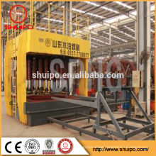 Hydraulic Dished End Configuring Machine / Metal Dished Head Buffing Machine