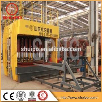 Extremidade hidráulica terminada que configura a máquina, máquina de dobramento principal terminada, extremidade do prato que forma a maquinaria