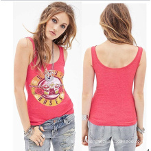 OEM High Quality Women Fashion Tops Ladies Tank Top