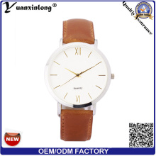 Yxl-53 Simple Design Leather Watch Lady Good Quality Fashion Vogue Ladies Casual Watches