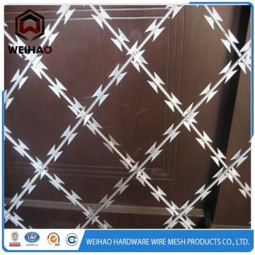 BTO-22 galvanized razor barbed wire with moderate price