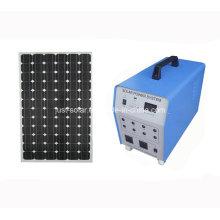 Sistema de energía solar de 100W que enciende para el hogar