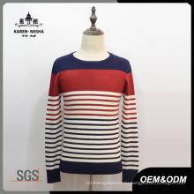 Основной мужской Стиль круглый шею свитер