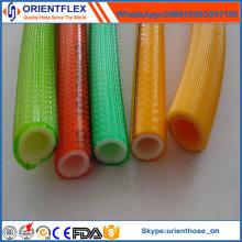 Hochdehnbarer Polyester-Verstärkungs-PVC-Hochdrucksprühschlauch