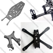 7.0x400x500mm Drone Parts Feuille de fibre de carbone