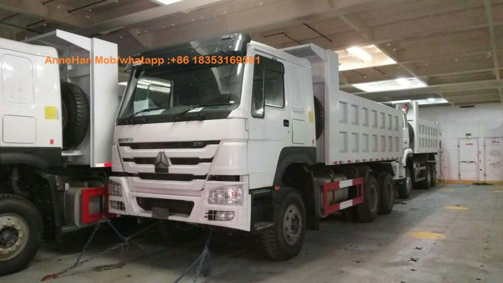 Camion benne basculante SINOTRUK HOWO 10 roues