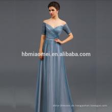 Offshoulder formelle Kleidung Korsett Taillenband Kleider Abendkleid