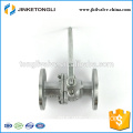 JKTLFB004 stainless steel a216 wcb 2pc flanged api ball valve