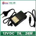 12VDC 2A Jenis Desktop Power Adapter