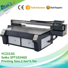 Factory supply uv digital printing machine,uv flatbed printer YC2513G with best factory price in China