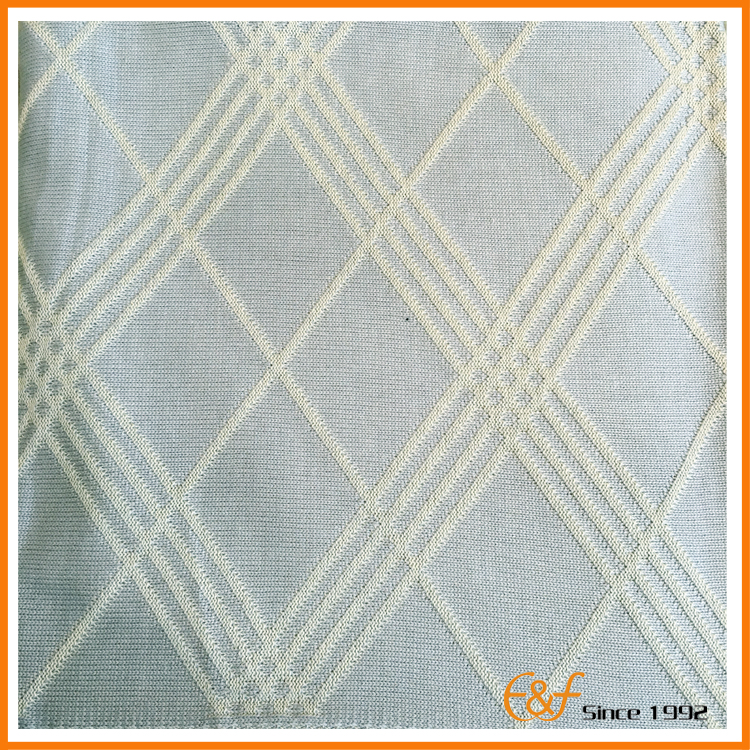 Lattice cotton blanket fabric
