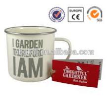 enamelware joyshaker cup for protein shakes