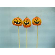 Abóbora de Halloween cerâmica artes e ofícios (LOE2375-A5.5p)