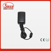 Entrada de 100-240 VCA al adaptador de salida 12VDC1a 12W