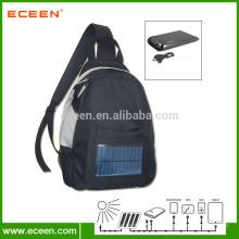 Sac doux pour étudiants solaires avec batterie 2200mah