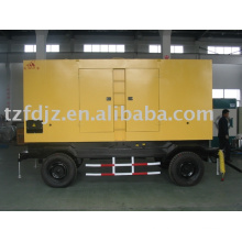mobile low noise genset