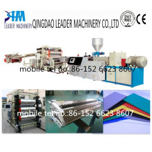 1220mm PVC Free Foam Plate/Board Extrusion Line for Advertising