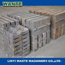 PE-Serie Mangan-Stahl Backenbrecher Ersatzteil (Backenplatte)