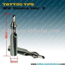 Высокое качество Закрыть плоский наконечник татуировки magnum