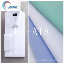 60% Baumwolle 40% Polyester Poplin Stoff CVC Stoff für gute Qualität T-Shirt
