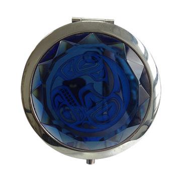 Blue crystal Mirrors