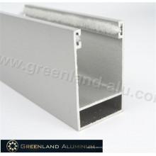 Lamina de obturador con revestimiento en polvo en perfil de aluminio