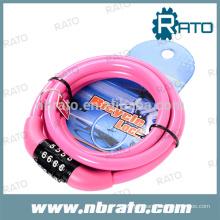 Serrure à combinaison RBL-110 Pink Child Bicycle