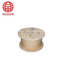 Glasfaserkabel mit hochtemperaturbeständigem Draht