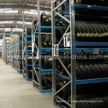 Automoblie Wheels Tire Shelf Tire Rack Warehouse Storage Tire Rack