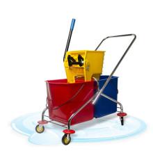15L/35L/36L/50L/Double Mop Wringer Trolley Down-press Side-press Double Wringer Mop bucket