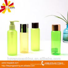 Cosmetic PET 120ml plastic bottle