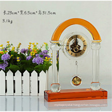 Delicate Crystal Clock For Desk Decoration Or Gifts