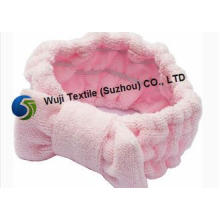Easy for Cleaning Red Pink Microfiber Towels for Hair 80% P