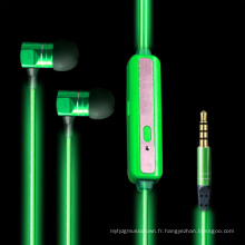 Accessoires pour téléphones mobiles Visible Light Sport Earphone (K-688)